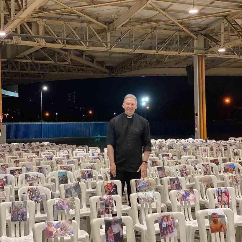 Padre Marcelo Rossi Missa a distância